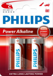 Philips Power Alkaline C (LR14) 2ks