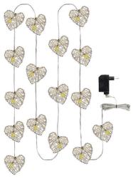 Emos 16 LED 3M IP20 WW vánoční srdce
