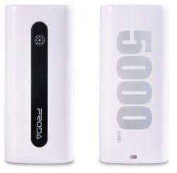 Remax AA-1057 E5 powerbanka 5000 mAh, bílá