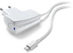 CellularLine cestovní nabíječka 1A (bílá)