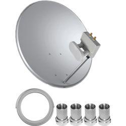 TELE System satelitní set 80 cm + Monoblock Twin