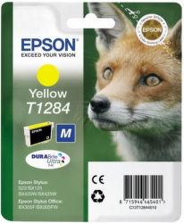 Epson T1284 M yellow (líška) - inkoustová náplň