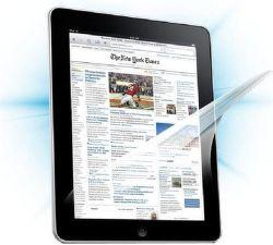 ScreenShield fólie pro Apple iPad 2 3G + black carbon