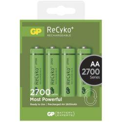 GP ReCyko+ 2700 HR6 (AA), 4 ks
