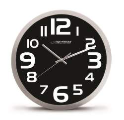 Esperanza EHC013K Zurich I (černá) - Nástěnné hodiny