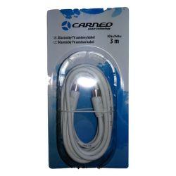 Carneo anténní kabel 3m bíly