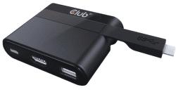 Club 3D SenseVision USB 3.1 Type C to HDMI™ 2.0 + USB 2.0 + USB Type C Charging