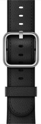 Apple Watch 42mm černý klasický řemínek