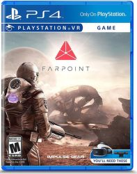 PS VR Farpoint - PS4 hra