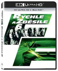 Rychle a zběsile 6 - 2xBD (Blu-ray + 4K UHD film)