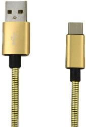Mobilnet kabel USB typ C 2A 1m, zlatá