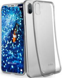 SBS Extra Slim pouzdro pro iPhone X a Xs, stříbrná