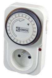 Emos TS-MD3 mechanická spínací zásuvka