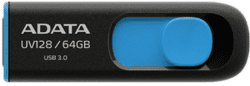 A-DATA UV128 64GB USB 3.0 modrý