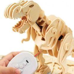 Rokr kousající T-rex 3D puzzle