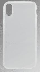 Mobilnet gumové pouzdro pro iPhone X, průhledné