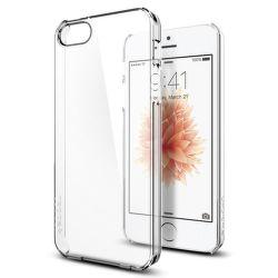 Spigen iPhone 5/5S/SE Case Thin Fit, transparentní