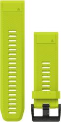 Garmin QuickFit 26mm silikonový řemínek pro Fénix 3/5X žlutý