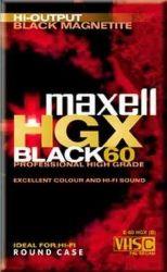 Maxell E 60 HGX-B VHS videokazeta