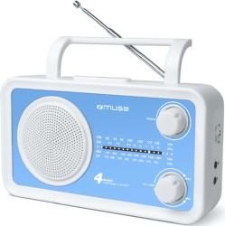 Muse M-05 bílo-modrý