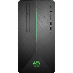 HP Pavilion Gaming 690-0009nc černo-zelený