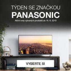 Panasonic týden: slevy na vybrané produkty!