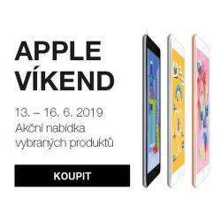Apple víkend - akční ceny na vybrané výrobky a příslušenství