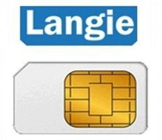Langie Global 3G data SIM karta