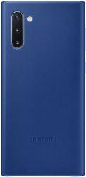 Samsung Leather Cover pro Samsung Galaxy Note10, modrá