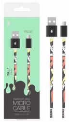 Aligator Plus datový kabel Micro USB 1 m 2 A