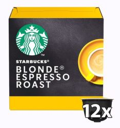 Starbucks Blonde espresso Roast 12ks