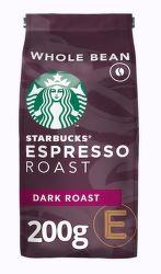 Starbucks Espresso Dark Roast zrnková káva (200g)