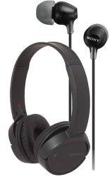 Sony WH-CH500B + MDREX110APB černé