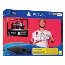 Sony PlayStation 4 Slim 1TB černá + 2x DualShock 4 v2 + FIFA 20