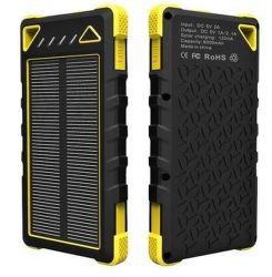 Viking solární outdoorová powerbank SPT-80 8000 mAh, žlutá