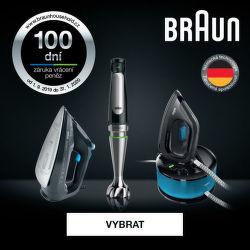 100 dní záruka vrácení peněz Braun