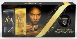 L´OR Onyx a Classique zrnková káva (2x500g)+hrnek