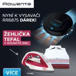 K vysavači Rowenta RR6875 dárek v hodnotě 999 Kč