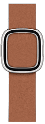Apple Watch 40 mm kožený řemínek s magnetickou přezkou malý, sedlově hnědý
