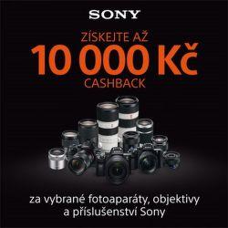 Cashback na foto produkty Sony