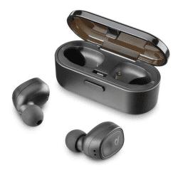 Cellularline Shadow bezdrátová sluchátka, černá