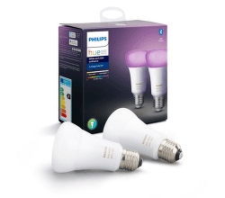 Philips Hue White and Color ambiance 9W E27 set 2 ks