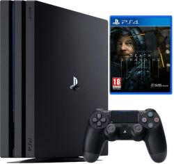 Sony PlayStation 4 Pro 1TB Gamma Chassis Death Stranding Limited Edition