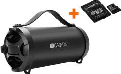 Canyon CNE-CBTSP6 černý bezdrátový reproduktor s paměťovou kartou
