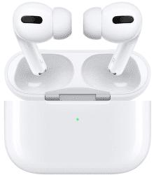 Apple AirPods Pro bílé sluchátka s bezdrátovým nabíjecím pouzdrem