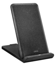 Uniq Vertex bezdrátová nabíječka, černá