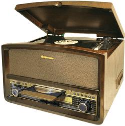 Roadstar HIF-1937TUMPK hnědé gramorádio