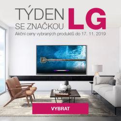 Týden se značkou LG - akční ceny na vybrané produkty.