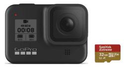 GoPro HERO8 černá + Sandisk microSD 32 GB