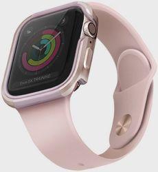 UNIQ Valencia pouzdro pro Apple Watch 40 mm, růžová